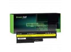 Green Cell Batéria 92P1138 92P1139 42T4504 42T4513 pre Lenovo ThinkPad R60 R60e R61 R61e R61i R500 SL500 T60 T61 T500 W500
