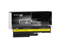 Green Cell PRO Batéria 92P1138 92P1139 42T4504 42T4513 pre Lenovo ThinkPad R60 R60e R61 R61e R61i R500 SL500 T60 T61 T500