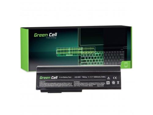 Green Cell Batéria A32-M50 A32-N61 pre Asus G50 G51 G51J G60 G60JX L50 M50 M50S M50V M50VC M50VN M50VM M60 N53 N53SV X57V