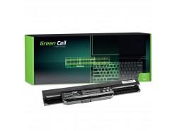 Green Cell Batéria A32-K53 pre Asus K53 K53E K53S K53SJ K53SV K53T K53U K54 X53 X53E X53S X53SV X53U X54 X54C X54H X54L
