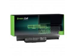 Green Cell ® batérie notebooku A32-K53 pre Asus K53 K53E K53S K53SV X53 X53S X54 X54C X53U X54H