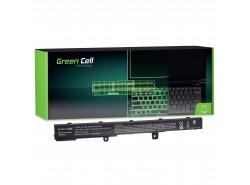 Green Cell ® batérie notebooku A41N1308 A31N1319 pre R508 R509 R556LD X551 X551M X551C X551CA X551MA X551MAV