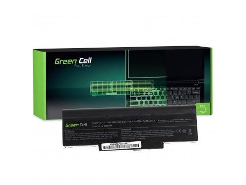Prenosný počítač Green Cell ® Akku BTY-M66 pre Asus A9 S9 S96 Z62 Z9 Z94 Z96 PC KLUB EnPower ENP 630 COMPAL FL90 COMPAL FL92