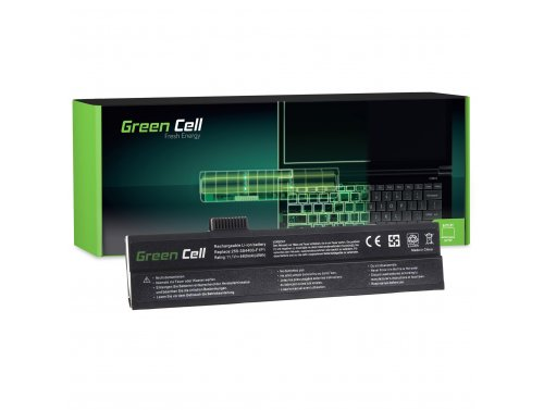 Green Cell Batéria 255-3S4400-G1L1 pre GERICOM 3000 5000 7000 Blockbuster Excellent 3000 5000 UNIWILL 255 VEGA VegaPlus 255