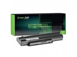 Green Cell Batéria FPCBP250 pre Fujitsu LifeBook A512 A530 A531 AH502 AH530 AH531 LH520