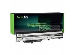 Batéria pre laptopy Green Cell ® BTY-S11 BTY-S12 pre MSI Wind U90 U100 U110 U120 U130 U135 U135DX U200 U250 U270