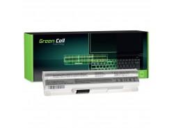 Green Cell Batéria BTY-S12 BTY-S11 pre MSI Wind U100 U250 U270 U135DX MOUSE LuvBook U100 PROLINE U100 Roverbook Neo U100