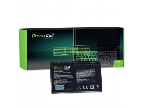 Green Cell Batéria GRAPE32 TM00741 TM00751 pre Acer Extensa 5210 5220 5230 5230E 5420 5620 5620Z 5630 5630EZ 5630G 14.8V