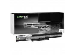 Green Cell ULTRA Batéria VGP-BPS35A VGP-BPS35 pre Sony Vaio SVF15 SVF14 SVF1521C6EW SVF1521G6EW Fit 15E Fit 14E