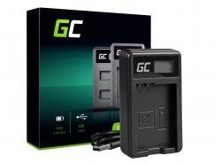 Kamera Akku-Ladegerät MH-24 Green Cell ® für Nikon EN-EL14, D3200, D3300, D5100, D5200, D5300, D5500, Coolpix P7000, P7700
