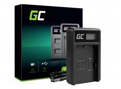 Nabíjačka LC-E6 Green Cell pre Canon LP-E6 LPE6N, EOS 5D MARK III/II 6D 7D 60D 60DA
