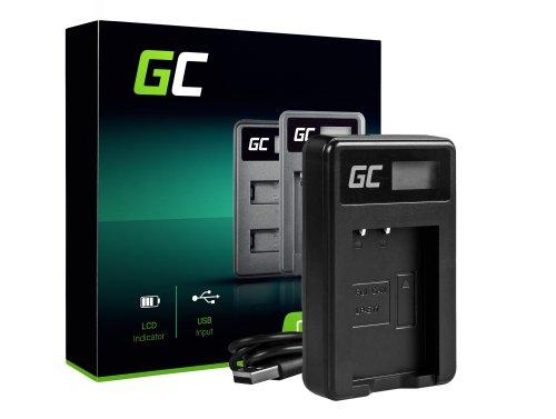 Nabíjačka batérií do fotoaparátu LC-E17 Green Cell Cell® pre Canon LP-E17, EOS 77D, 750D, 760D, 8000D, M3, M5, M6