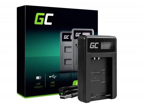 Nabíjačka batérií do fotoaparátu LC-E12 Green Cell Cell® pre Canon LP-E12, EOS M100, EOS100D, EOS-M, EOS M2, EOS M10, Rebel SL1