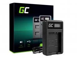 Kamera Akku-Ladegerät LC-E10 Green Cell ® für LP-E10, EOS Rebel T3, T5, T6, Kiss X50, Kiss X70, EOS 1100D, EOS 1200D