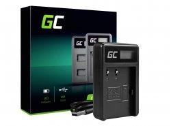 Kamera Akku-Ladegerät CB-5L Green Cell ® für Canon BP-511, EOS 5D, 10D, 20D, 30D, 50D, D30, 300D, PowerShot G1, G2