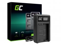 Kamera Akku-Ladegerät BCN-1 Green Cell ® für Olympus BLN-1/BCN-1, PEN-F, OM-D EM1, EM5, OM-D E-M5 Mark II