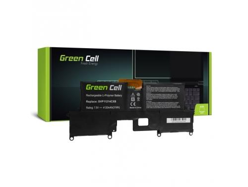 Green Cell Batéria VGP-BPS37 pre Sony Vaio Pro 11 SVP11