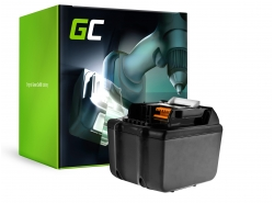 Green Cell Power Tool ® BL1830 BL1860 pre Makita BDF450SFE BTL061RF BTW450RFE 6000mAh