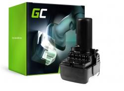 Green Cell ® nástroj batéria pre Hitachi CJ10DL BCL1015 10.8V 2Ah