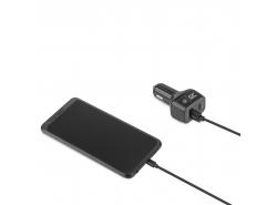 Nabíjačka 1x USB-C Power Delivery max. 24W (5V/3A, 9V/2A, 12V/2A),  1x USB Quick Charge 3.0 (3.6-6.5V/3A, 6.5V-9V/2A, 9-12V/1.5A)