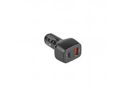 Green Cell ® Auto-Ladegerät Netzteil USB-C Power Delivery + USB Quick Charge 3.0