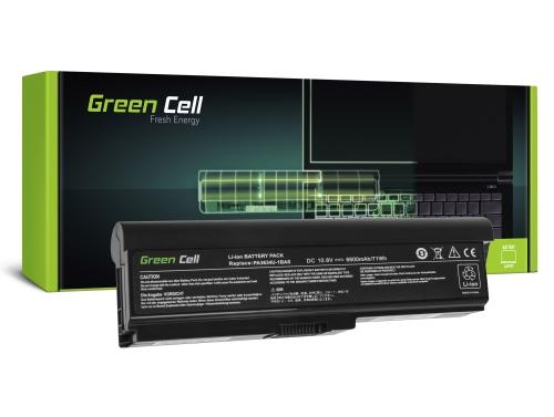 Batéria pre laptopy Green Cell ® PA3634U-1BRS pre Toshiba Satellite A660 A665 L650 L650D L655 L670 L670D L675 M300 M500 U400 U50