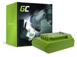 Green Cell ® Akku für Werkzeug GreenWorks 29852 G-24 G24 24V 2Ah
