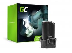 Green Cell ® Akku BL1013 BL1014 für Werkzeug Makita DA331DWE DF030D DF330D HP330DZ HS300DW TD090