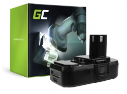 Green Cell ® Akku ONE+ RB18L50 RB18L15 für Werkzeug RYOBI R18AG0 R18JS0 R18PDBL RCD18022L RID1801M RMT1801M