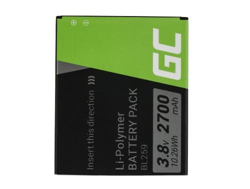 Green Cell Phone ® batérie BL259 pre Lenovo K3 K5 K5 Plus C2 Lemon 3