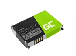 Batérie Green Cell ® 010-11143-00 pre GPS Garmin Aera 500 510 550 560 Nuvi 500 510 550 Zumo 210 600 650 660, Li-Ion 1880mAh 3.7V