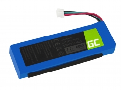 Batérie Green Cell GSP1029102R P763098 pre reproduktor JBL Charge 2 Charge 2 Plus Charge 2+ Charge 3 2015 version, 3.7V 6000mAh