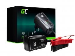 Inteligentný Universal Nabíjačky batérií Green Cell pre auto, motocykel 6 / 12V (1A)