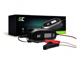 Automatická Nabíjačky batérií Green Cell pre Automobily, Motocykle 6 / 12V (4A) s inteligentnou diagnostikou