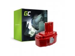 Nástroj na výrobu Green Cell ® pre náradie Makita 1815 1822 1835 192828-1 4334D 18V 3Ah