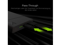 Power Bank Green Cell PRIME 10000mAh mit Schnellladetechnik Ultra Charge