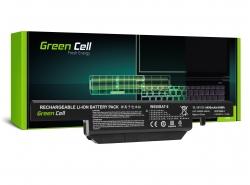 Green Cell Laptop ® Akku W650BAT-6 fur Clevo W650 W650SC W650SF W650SH W650SJ W650SR W670 W670SJQ W670SZQ1
