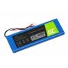 Batérie Green Cell 5542110-P P5542100-P P5542100P pre reproduktor JBL Pulse 2 Pulse 3 Pulse II/III, Li-Polymer 3.7V 6000mAh