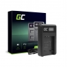 Nabíjačka batérií pre fotoaparáty CB-2LD Green Cell Cell® pre Canon NB-11L PowerShot A2300 IS A2400 IS A3400 IS A3500 IS SX400 I