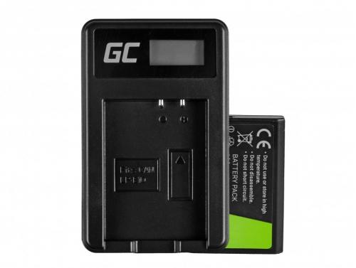 Batéria Green Cell Cell® LP-E10 a nabíjačka LC-E10 pre OS Rebel T3, T5, T6, Kiss X50, Kiss X70, EOS 1100D