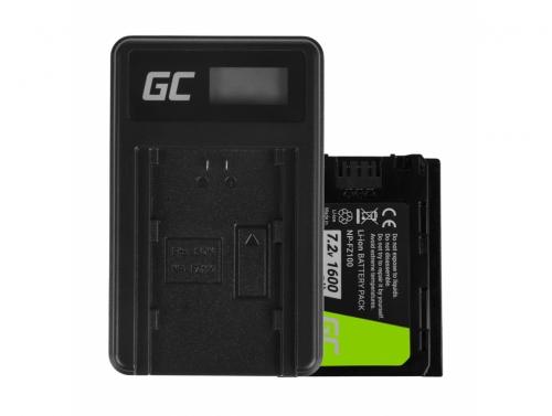 Green Cell Laptop Battery NP-FZ100 a nabíjačku BC-QZ1 pre Sony Alpha 9 9R 9S A7 III A7R III A9 A9R