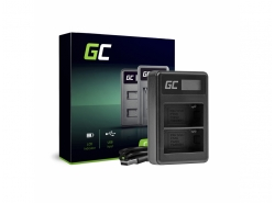 Nabíjačka BC-V615 | AC-VL1 Green Cell pre Sony NP-FM500H, A58 A57 A65 A77 A99 A900 A700 A580 A560 A550 A850 SLT A99 II