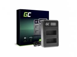 Kamera Akku-Ladegerät BC-V615 | AC-VL1 Green Cell ® für Sony A58, A57, A65, A77, A99, A900, A700, A580, A56, A55,0 A850