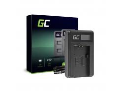 Kamera Akku-LadegerätBC-TRP Green Cell für Sony NP-FH50 DCR-HC45 DCR-SR300E DCR-SR70 DCR-SX50E