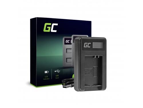 Nabíjačka batérií do fotoaparátu CB-2LCE Green Cell pre Panasonic Canon NB-10L PowerShot G15, G16, G1X, G3X, SX40 HS, SX40HS, SX