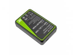 Green Cell ® Akku LP-E8 und Ladegerät LC-E8 für Canon Rebel T2i, T3i, T4i, T5i, EOS 600D, 550D, 650D, 700D, Kiss X5, X6