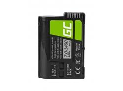Batéria Green Cell Cell® EN-EL15 pre Nikon D850, D810, D800, D750, D7500, D7200, D7100, D610, D600 7,0 V 1400 mAh