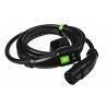 Nabíjací kábel Green Cell GC Type 2 na nabíjanie EV Tesla Leaf Ioniq Kona E-tron Zoe 22kW 5 metrov s puzdrom