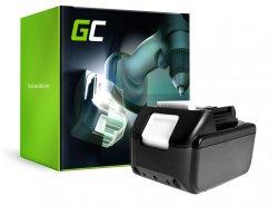 Green Cell ® Akku für Makita BL1830 194204-5 Zelle SAMSUNG 18V 4Ah