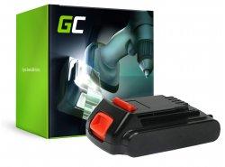 Green Cell ® Akkuwerkzeug für Black&Decker BL1518 BL2020 ASD ASL LG C120